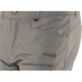 Bergans Utne Short Homme, solid dark grey/solid charcoal